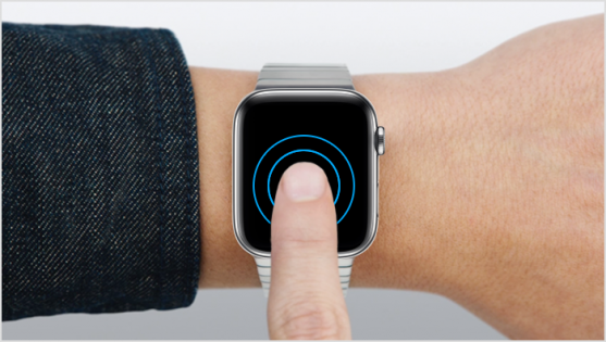 Force Touch on Apple Watch