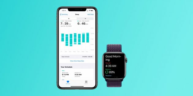 Apple Health app for iOS User