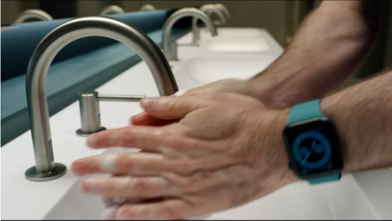 Handwashing Detection feature Apple Watch