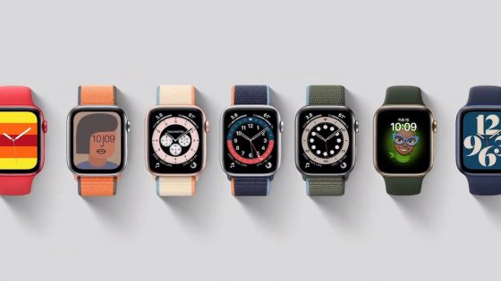 New Watch Faces in apple watch