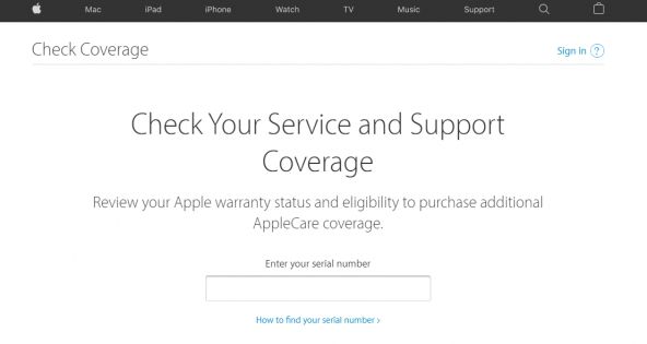 AppleCare coverage
