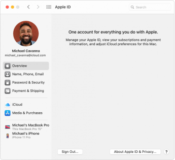 Apple ID and Sign