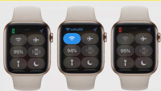 Apple Watch's Connection