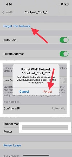 Forget the Wi Fi Network