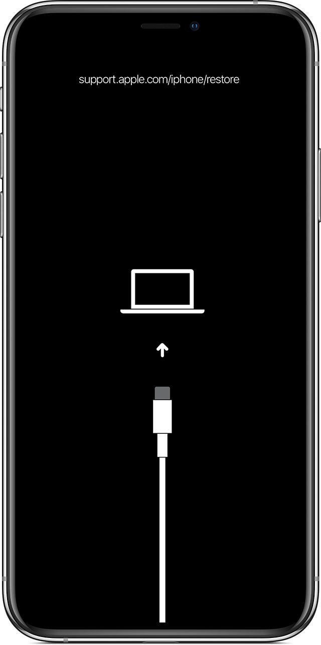 Enter Recovery Mode on iPhone X